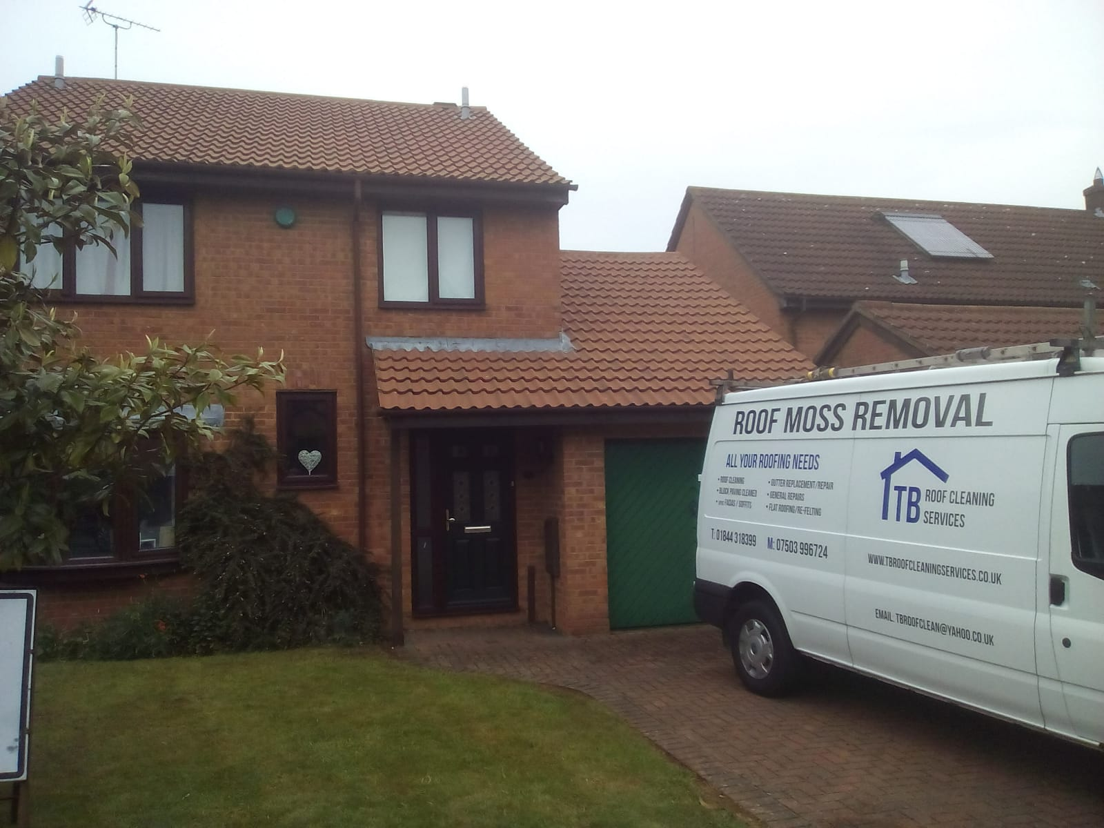 T B Roof Cleaning Services Roof Moss Removal